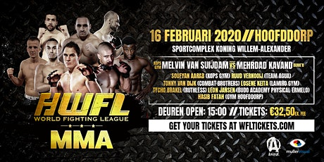 World Fighting League MMA tickets
