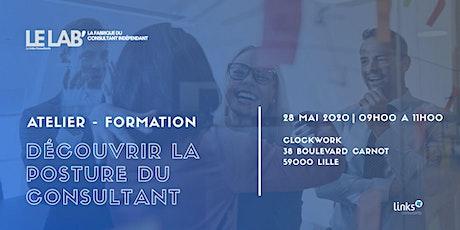 Atelier Formation #Lille | Découvrir la posture du consultant | Le LAB' tickets