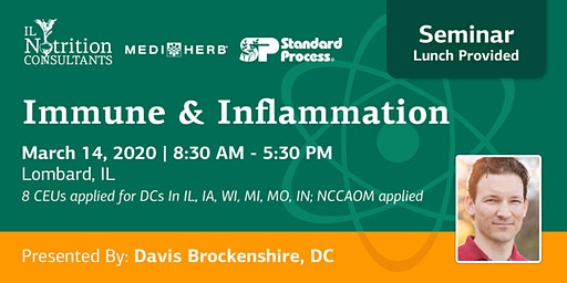 Immune and Inflammation - Presented by Davis Brockenshire, DC
