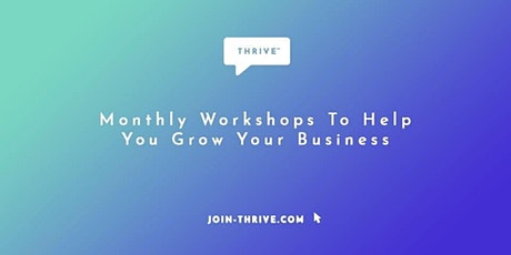 Thrive™ by Jon Covey tickets