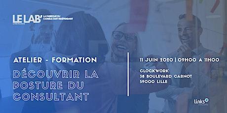 Atelier Formation #Lille | Découvrir la posture du consultant | Le LAB' billets