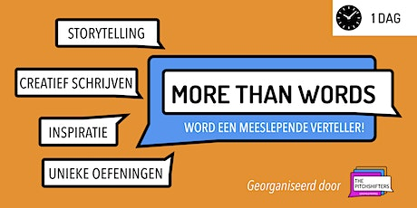 More Than Words - Storytelling & Creative Writing [DUTCH] tickets