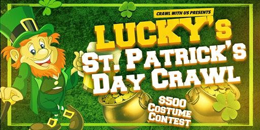 Lucky's St. Patrick's Day Crawl - Greenville