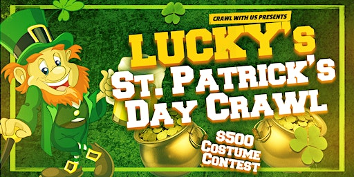 Lucky's St. Patrick's Day Crawl - Knoxville