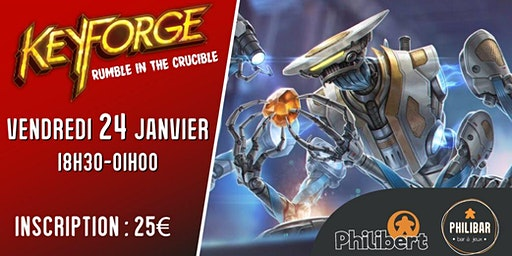 Keyforge : Rumble in the Crucible