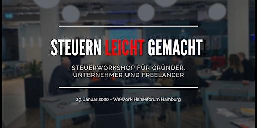 Steuern leicht gemacht - Workshop für Unternehmer & Freelancer