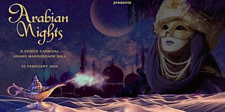 Carnival Venice - Arabian Nights Masquerade Ball biglietti