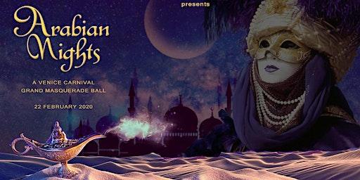 Carnival Venice - Arabian Nights Masquerade Ball