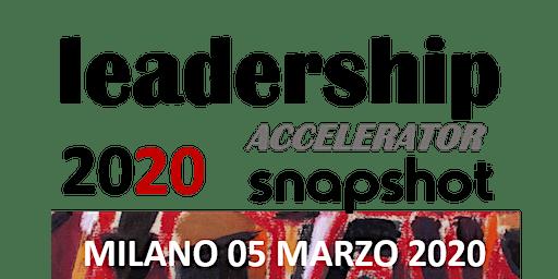 LEADERSHIP ACCELERATOR SNAPSHOT - MILANO
