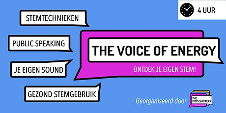 The Voice Of Energy - Public Speaking [DUTCH] tickets