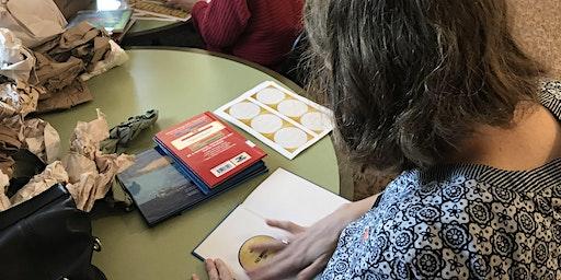 Women United Volunteer Book Plating