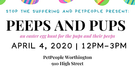 STS and PetPeople: Peeps and Pups 2020!