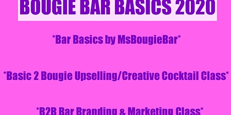 BOUGIE BAR BASICS WITH MS BOUGIE BAR tickets