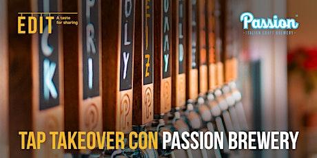 Tap Takeover con Passion Brewery biglietti