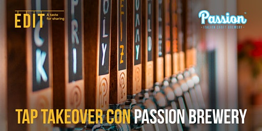Tap Takeover con Passion Brewery