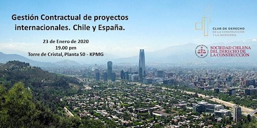 Gestión Contractual de Proyectos. La experiencia de Chile y España.