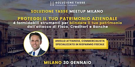 Soluzione Tasse MeetUp - Milano biglietti