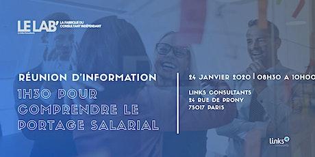 1h30 pour tout savoir sur le portage salarial #Paris | Links Consultants tickets