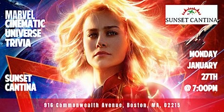 Marvel Cinematic Universe Trivia at Sunset Cantina tickets