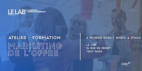 Atelier Formation #Paris | Marketing de l'offre | Links Consultants billets