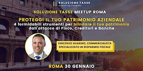 Soluzione Tasse MeetUp - Roma biglietti