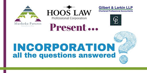 Incorporation...all the questions answered