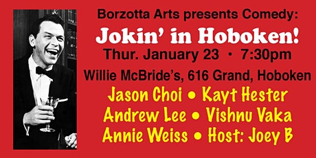 Jokin' In Hoboken! w/ Joey B and Friends tickets