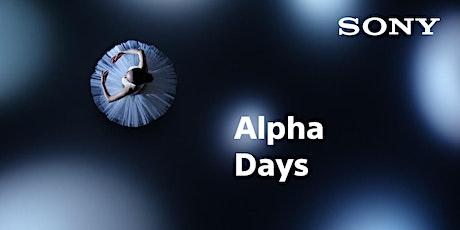 Sony Alpha Days  München tickets