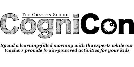 CogniCon at The Grayson School tickets