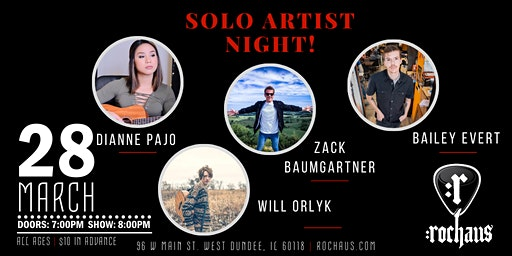 Solo Artist Night