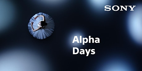 Sony Alpha Days  Hamburg Tickets
