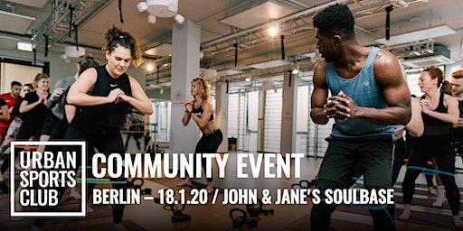 Urban Sports Club x JOHN & JANE'S SOULBASE