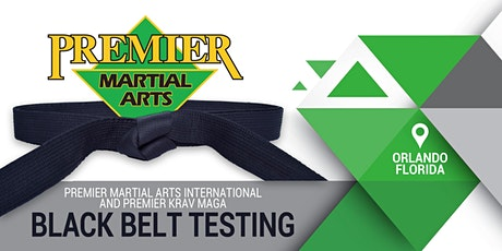 2020 Annual Premier Martial Arts International and Premier Krav Maga Black Belt Testing tickets