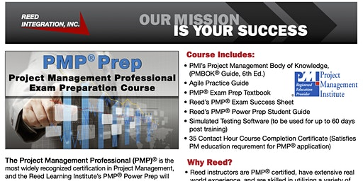 PMP Prep - Suffolk, VA - Weekend Course - Feb. 29 - March 8, 2020