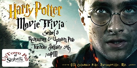 Harry Potter (Movie) Trivia at Seibel's Restaurant and UpTown Pub tickets
