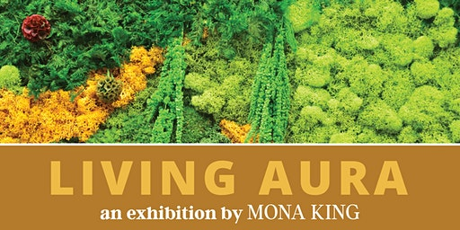 """Living Aura"" exhibition Reception"