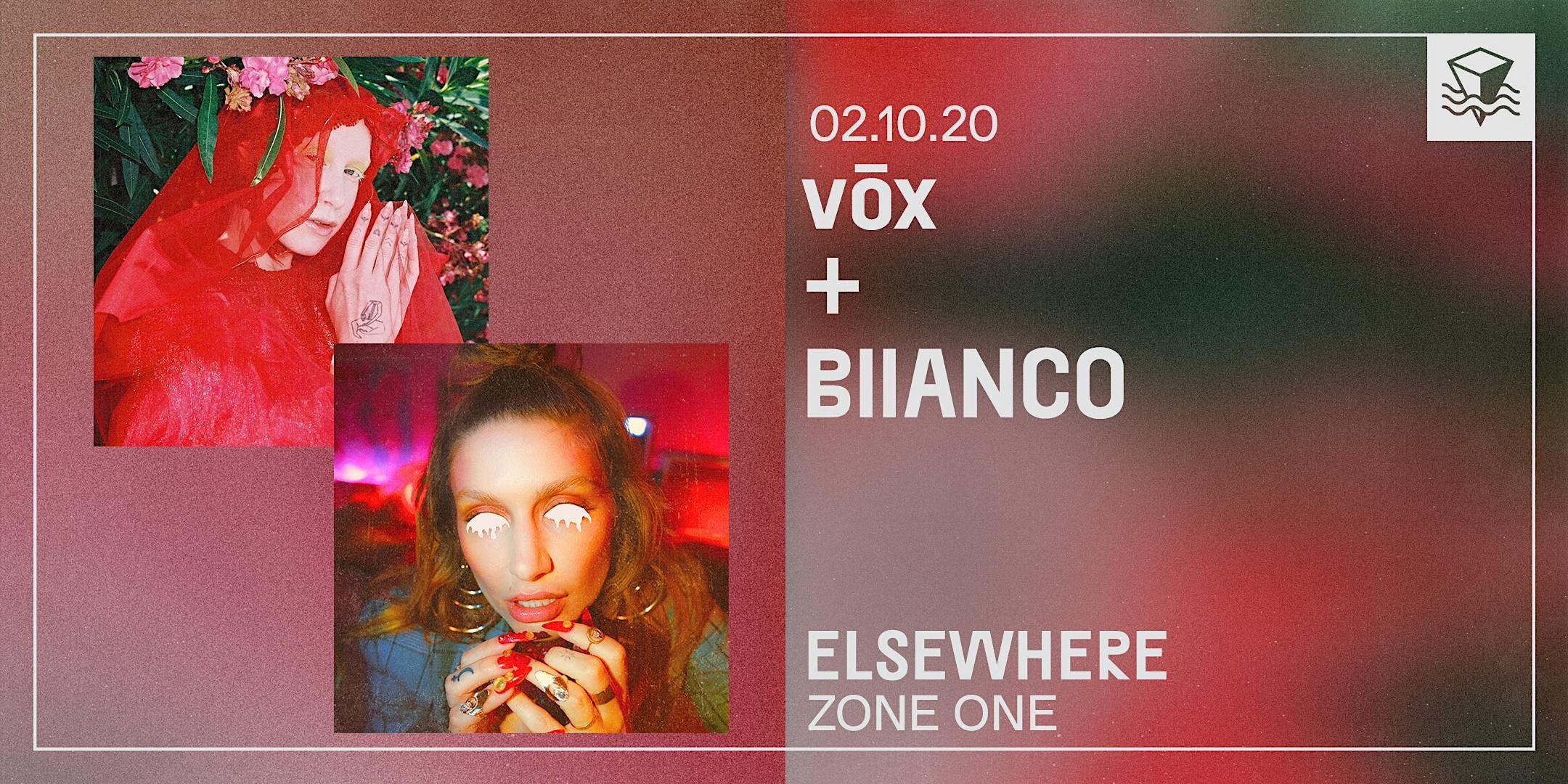 vōx + BIIANCO
