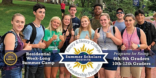 Summer Scholars Institute and Leadership Program Application and Deposit