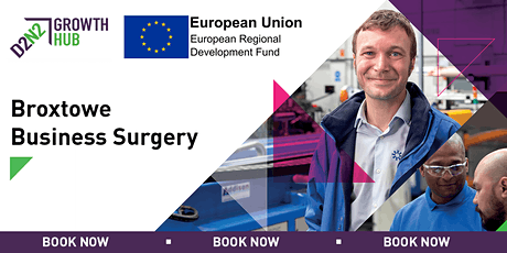 Broxtowe Business Surgeries - 5th February 2020 tickets