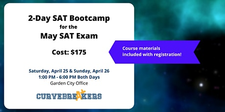 2-Day SAT Bootcamp for the May SAT Exam tickets