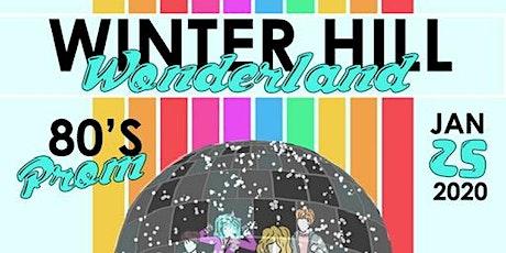 Winter Hill Wonderland 80's Prom tickets