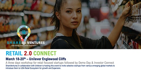 ShareVentures Retail 2.0 NYC Accelerated Program - Shortlisted Startup tickets