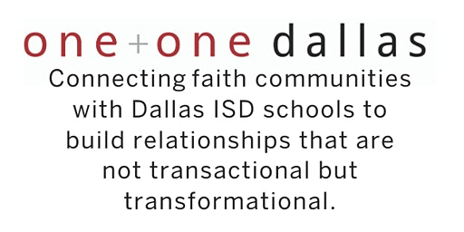 One + One Dallas Faith Community Partner Lunch
