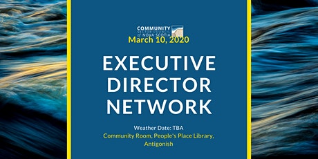 """What We Heard"" -- Executive Directors Network tickets"