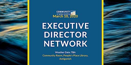 """What We Heard"" -- Executive Directors Network"