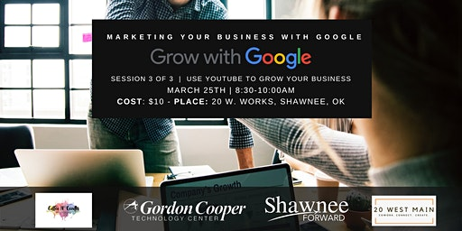 """Grow with Google Workshop Breakfast - """"Use YouTube to Grow Your Business"""""""