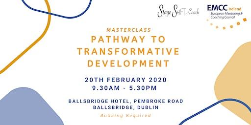 StageSHIFT Pathway to Transformative Development Masterclass
