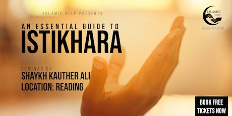 Istikhara - An Essential Guide - Reading tickets