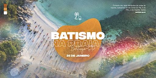 Batismo na Praia de Itaguaré   2020