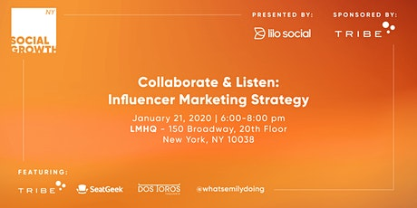 Collaborate & Listen: Influencer Marketing Strategy tickets